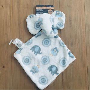 Blankets & Beyond | Elephant Lovey w/ Owl Print